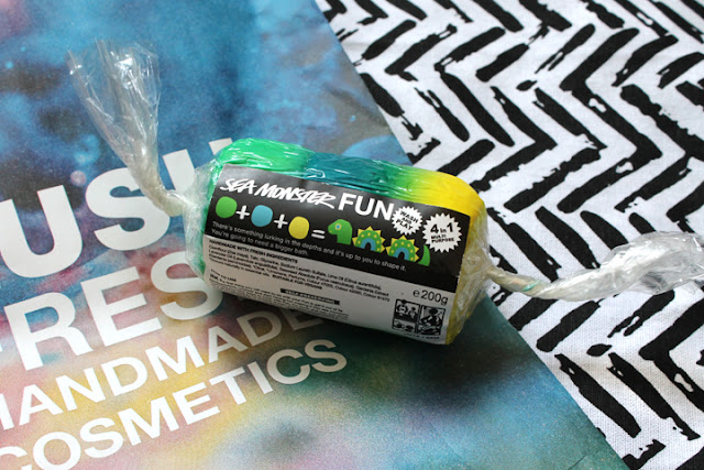 Lush Review | Sea Monster Fun