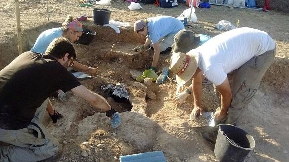 Un ancien cimetière découvert sous une nécropole visigoth en Espagne