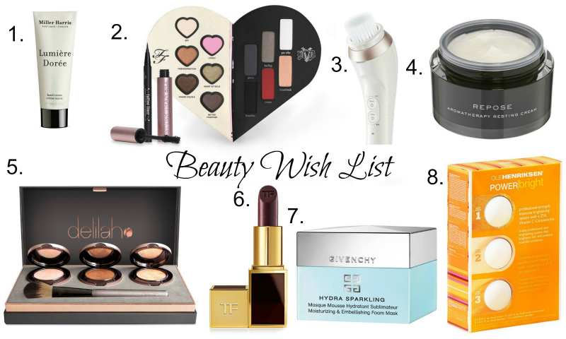 february beauty wish list