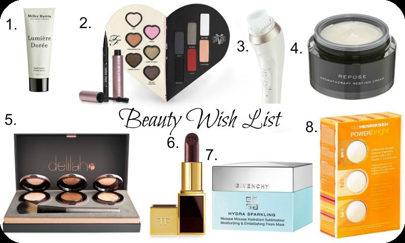 february beauty wish list