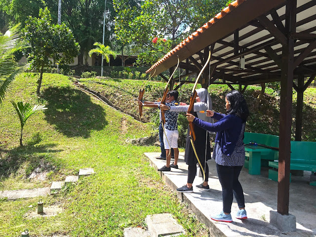 Archery Activity at SIjori Resort and Spa Batam