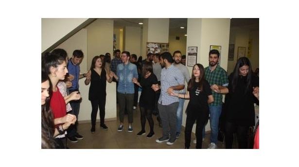Γλέντι υποδοχής πρωτοετών φοιτητών, στο Σύλλογο Ποντίων Φοιτητών και Σπουδαστών Θεσσαλονίκης