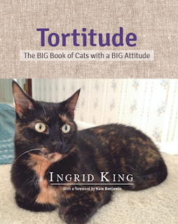 Tortitude: The BIG Book of Cats with a BIG Attitude by Ingrid King book cover.
