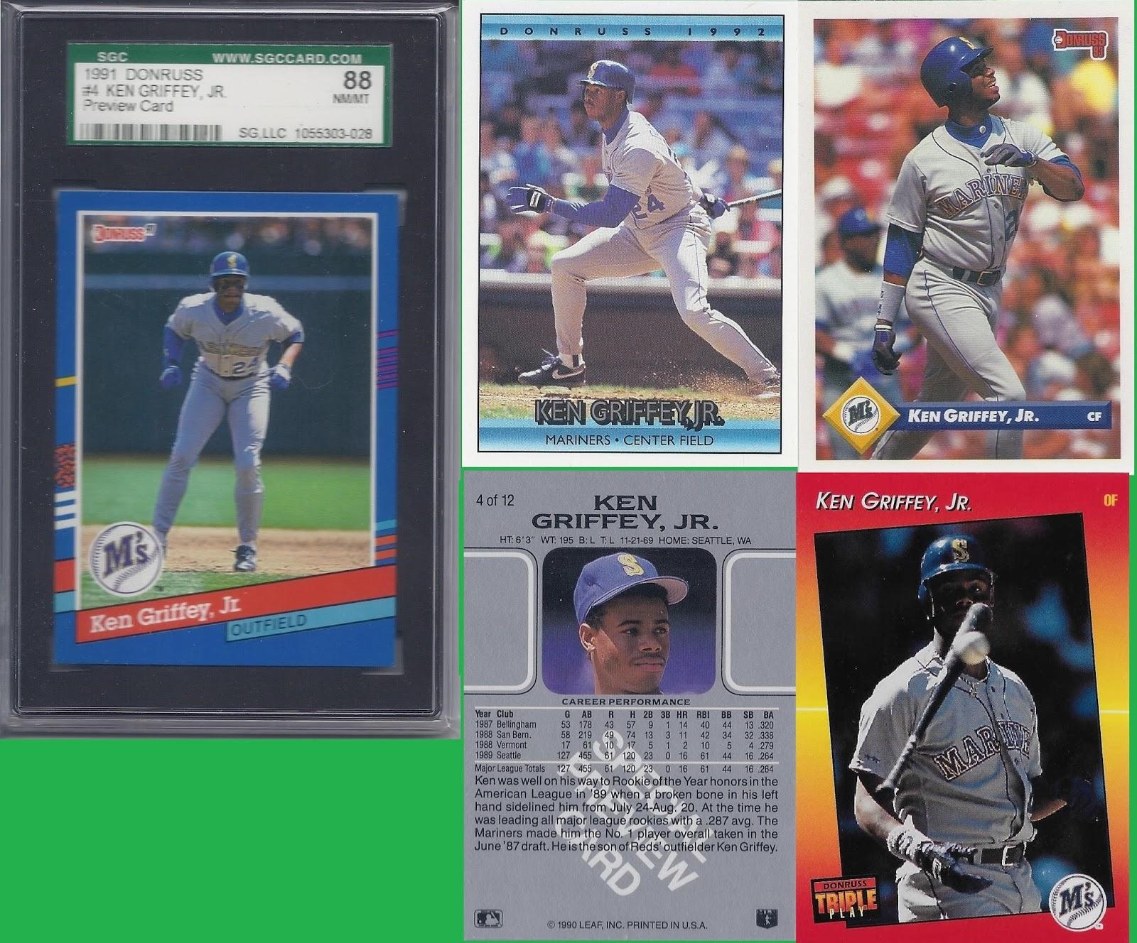 21ffdca592 Donruss/Leaf/Triple Play Previews (1990 Leaf, 1991, 1992, 1993 Donruss,  1992 Triple Play)