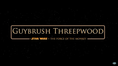 Guybrush Threepwood - Star Wars - The Force of the Monkey