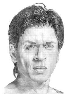 Shah Rukh Khan Pencil drawings - pencil drawings