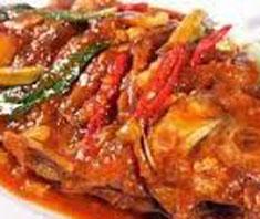 Resep masakan indonesia ikan bawal saus tiram spesial (istimewa) praktis mudah sedap, nikmat, enak, gurih lezat