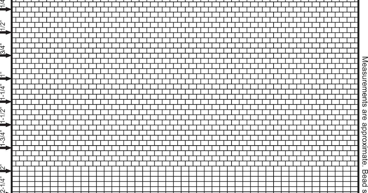 free brick stitch graph paper