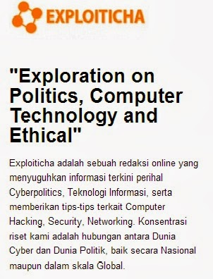 Please visit my Cyber Politics Blog