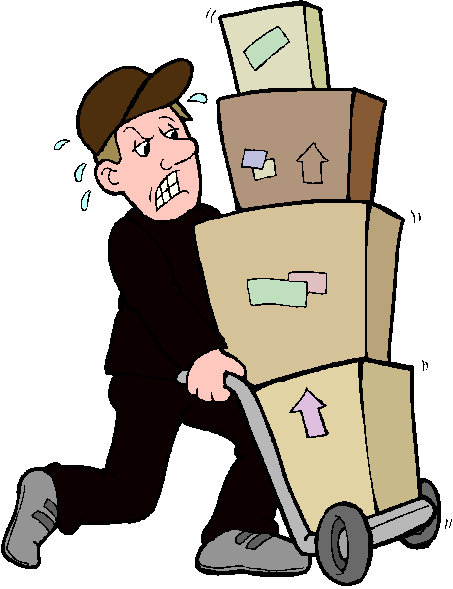 clipart delivery man - photo #47