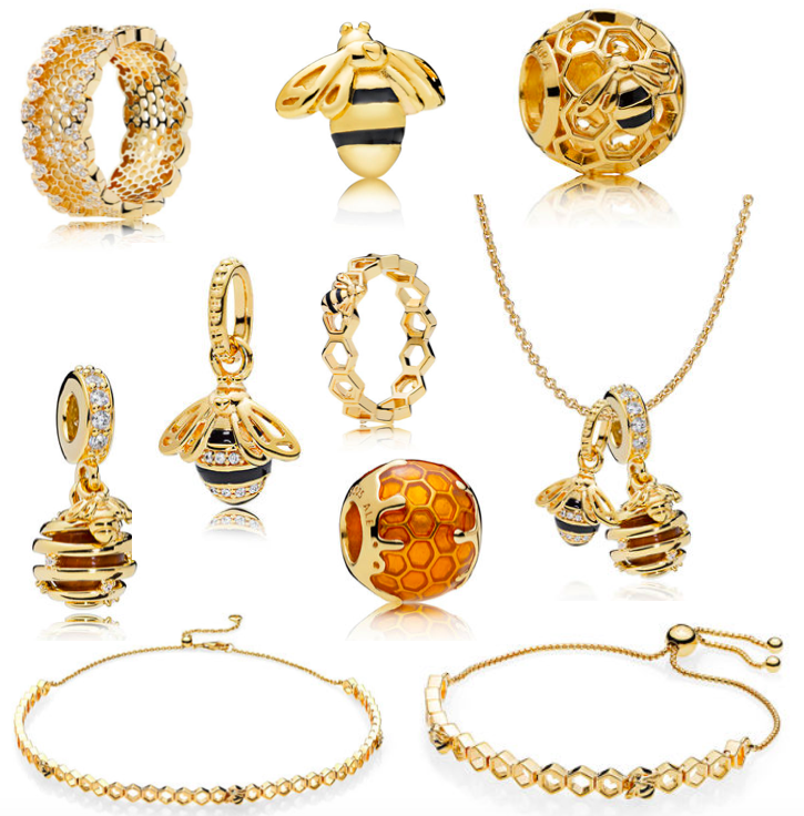 4d9d30efa Bumblebee. Recently I've been obsessed with Pandora's new collection The  Pandora Shine Collection. The collection is a range of beautiful gold  pieces ...
