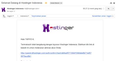 Langkah Mudah membuat Website Gratis (Domain+Hosting) di Hostinger
