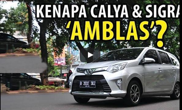 Video Hasil Tes Mengapa Toyota Calya Dan Daihatsu Sigra Amblas Kalau Diisi 7 Penumpang