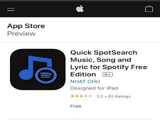 SpotSearch, aplikasi untuk mengetahui judul lagu di iPhone