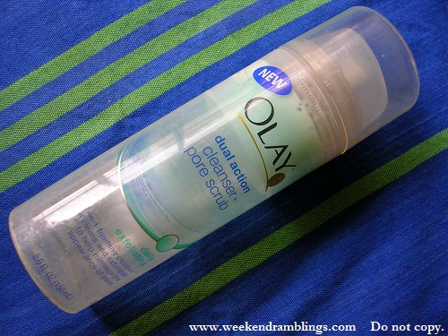 Olay Dual Action Cleanser and Pore Scrub