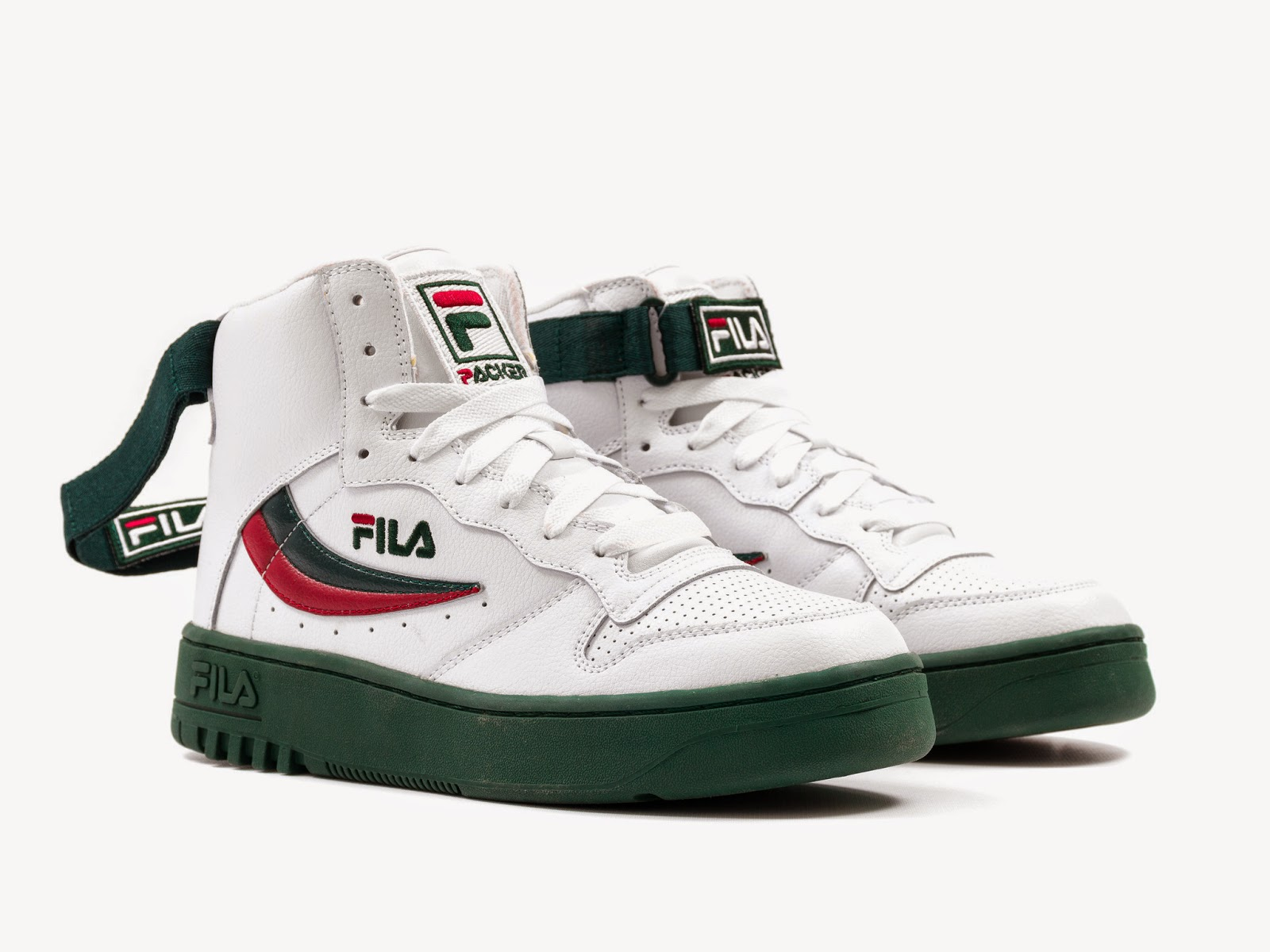 """b2dcd94cc23d The Packer Shoes x Fila FX-100 """"The O.G."""" is the model featured as this  collaborative project utilizes the storied Fila FX-100 model as a muse"""