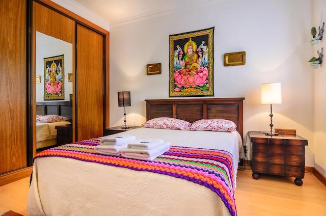 Hotel Fátima House em Nazaré - quarto
