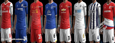 Premier League Mini Kitpack 2016-2017 Pes 2013