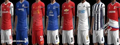 Premier League Mini Kitpack 2016-2017 Pes 2013