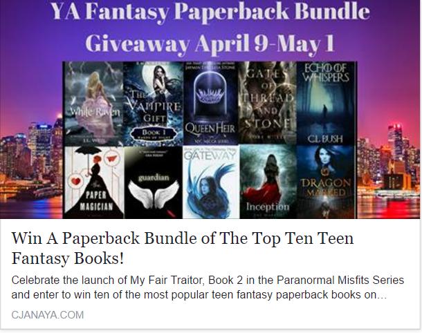 teens top ten book giveaway
