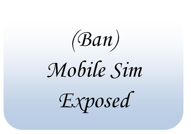 Ban on Pak mobile SIMs imposed.