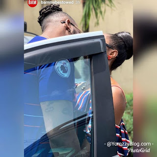 #BBNaija's Bambam And Teddy-A Lock Lips In New Loved-up Photo
