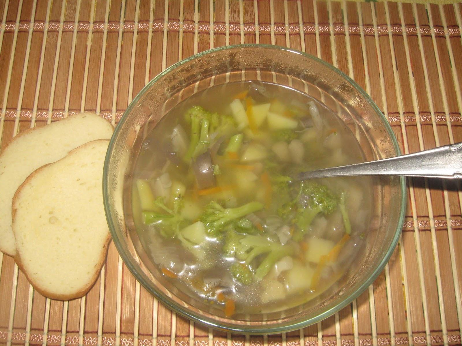 Суп из того что было в холодильнике — 6