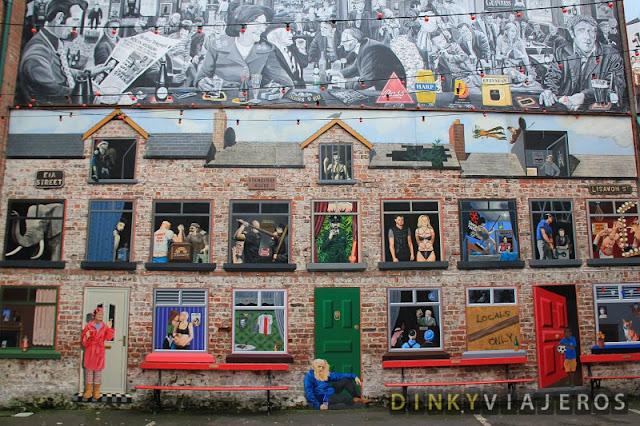 Patio del pub Duke of York