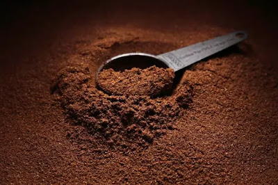 Ground Coffee, fruits, vegetables