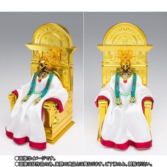 "Saint Cloth Myth EX Aries Shion (Surplice) & Pope Set de ""Saint Seiya"" - Tamashii Nations"