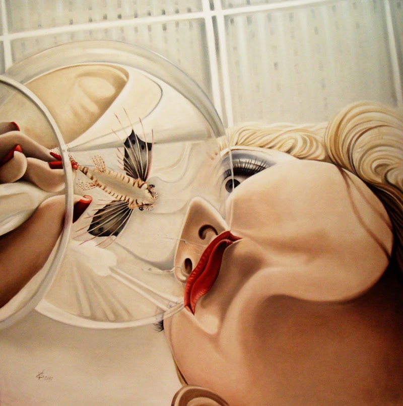 Pop Surrealist Paintings by Valentina Toma.
