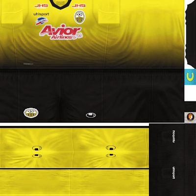 PES 6 Kits Deportivo Táchira Season 2018/2019 by WindowOp Kitmaker