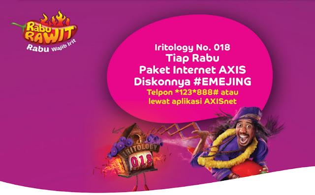 Internetan Seru Pakai Paket Rabu Rawit Axis