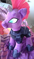 Close Ups of New MLP Tempest Shadow and Pinkie Pie Build-a-Bear Plush