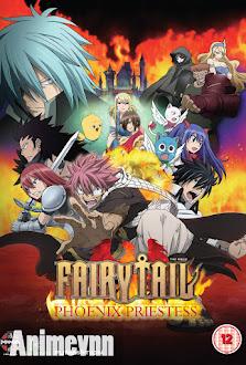 Fairy Tail Movie: Nữ Tế Của Phượng Hoàng - Fairy Tail: Priestess Of The Phoenix 2012 Poster