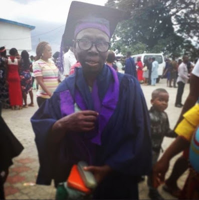 Nigerian Mum Becomes A Graduate At 61 (Photos)