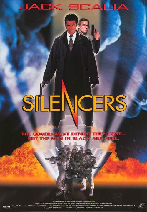 A Fekete ember / The Silencers (1996) (Teljes film)