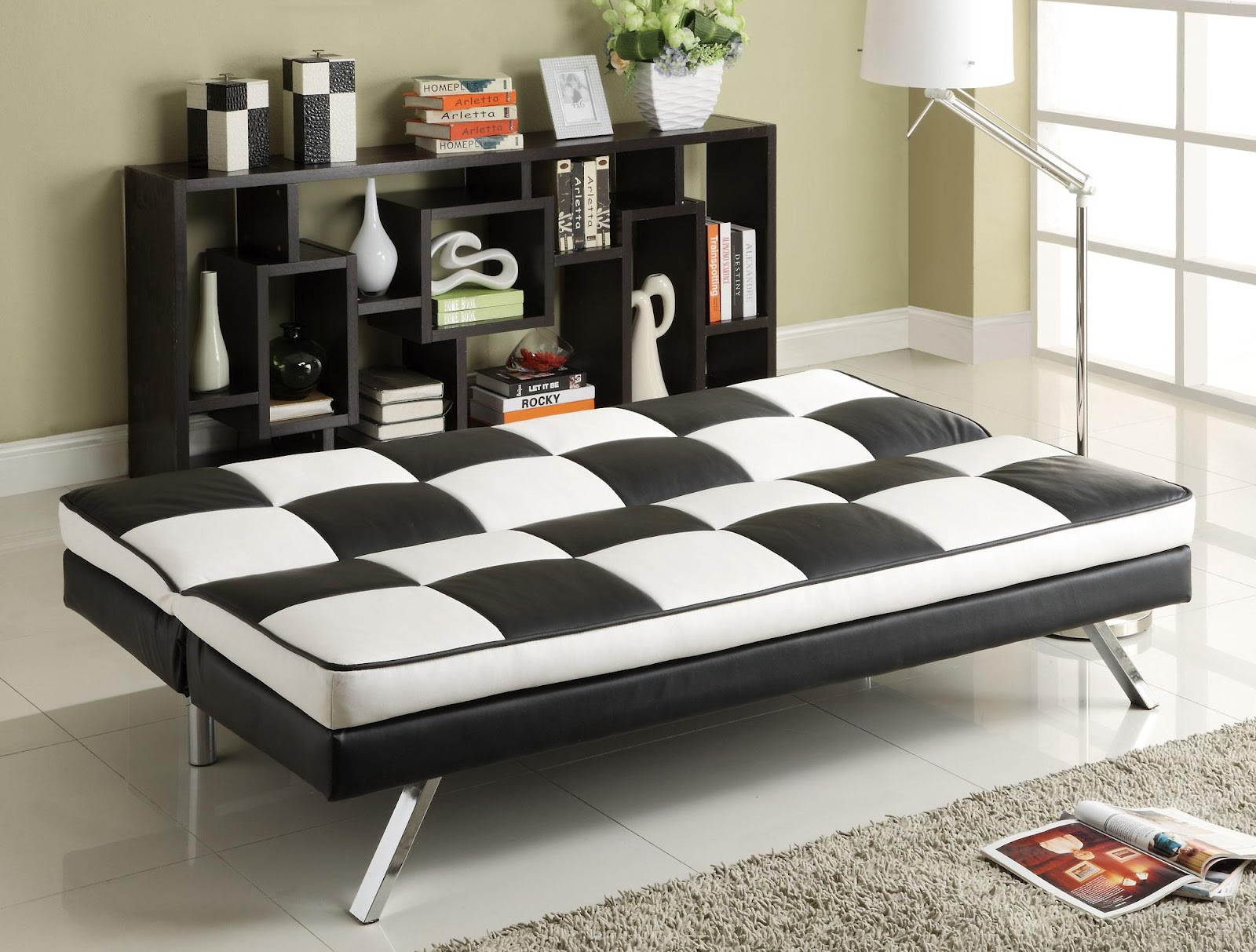 How To Open Click Clack Sofa Bed House Of Fraser Sofas Linea Chair Modern Leather