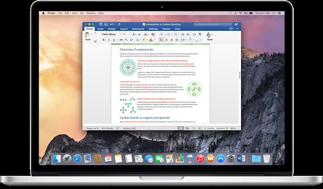 Download Microsoft Office For Mac 2016 Free desktop