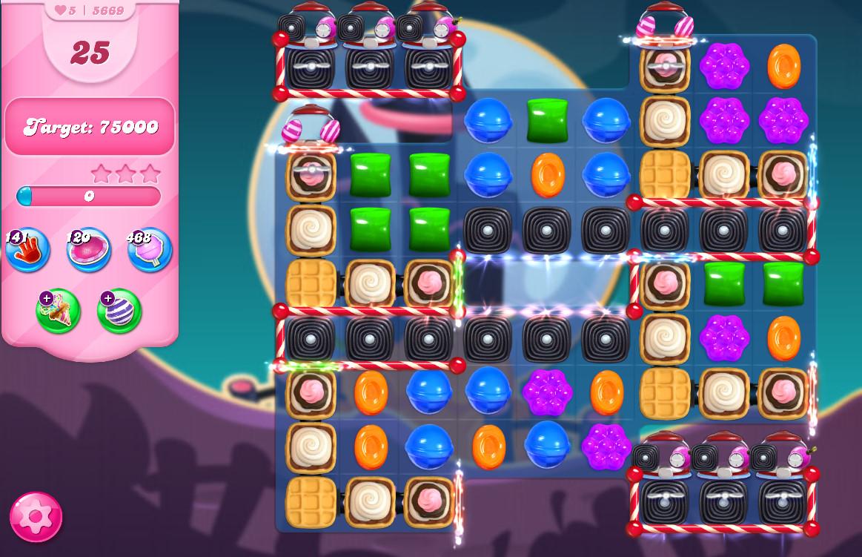 Candy Crush Saga level 5669