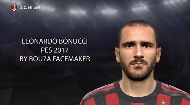 Face Leonardo Bonucci PES 2017