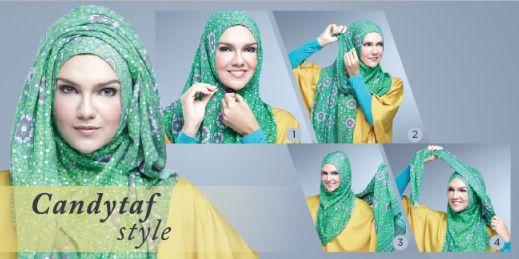 Gaya Hijab Pashmina