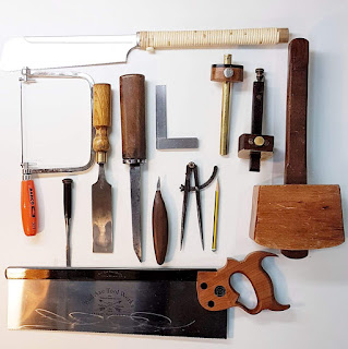 Image of woodworking tools