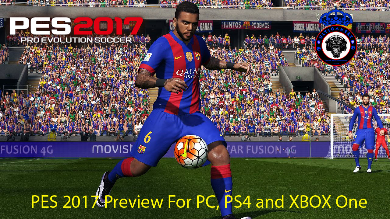 ultigamerz pes 2017 preview for pc ps4 and xbox one. Black Bedroom Furniture Sets. Home Design Ideas