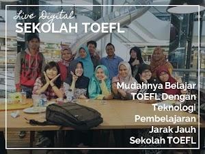Mudahnya Belajar TOEFL Dengan Teknologi Pembelajaran Jarak Jauh Sekolah TOEFL - Lomba Blog #LiveDigital Home Credit