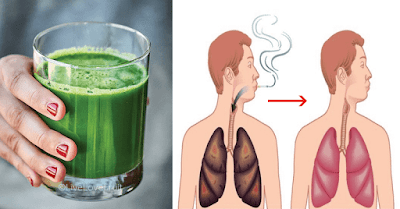 A Natural Drink To Clean The Lungs Of Smokers