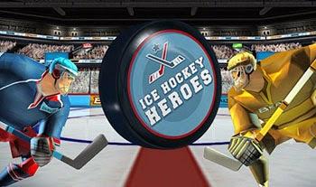 لعبة ابطال هوكى الجليد Ice Hockey Heroes اون لاين