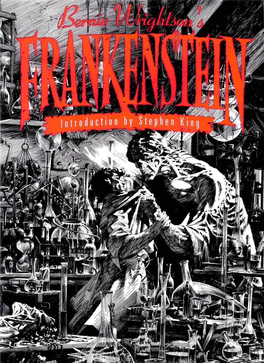 Bernie Wrightson's Frankenstein - Bernie Wrightson art ...