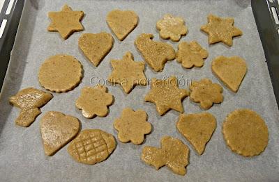 galletas jengibre y cardamomo con nueces