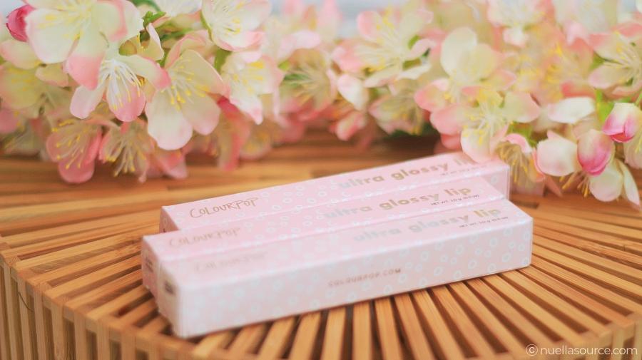 Colourpop ultra glossy lip box
